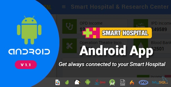 Smart Hospital Android App - Mobile Application for Smart Hospital - CodeCanyon Item for Sale
