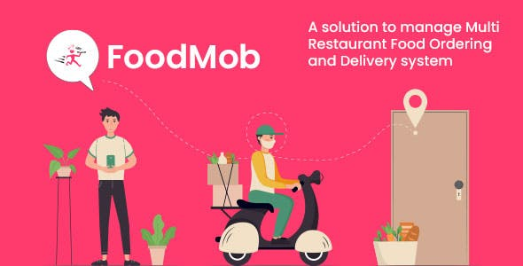FoodMob - An Online Multi Restaurant Food Ordering and Delivery System with Contactless QR Code Menu