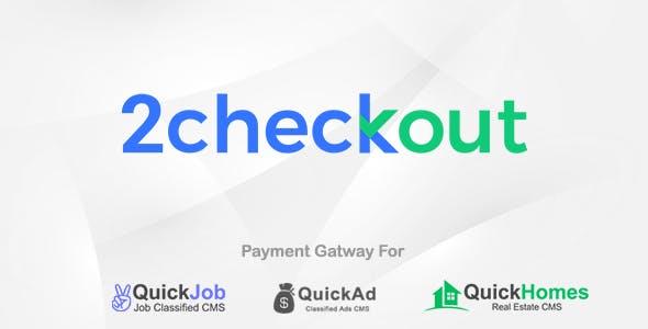 2Checkout Payment Plugin For QuickCMS