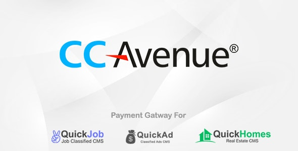 CCAvenue Payment Plugin For QuickCMS - CodeCanyon Item for Sale