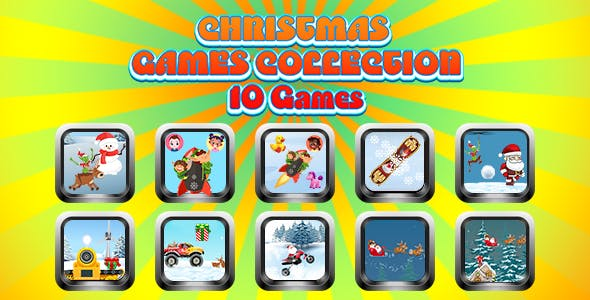 Game Collection 15 (CAPX and HTML5) 10 Games for Christmas