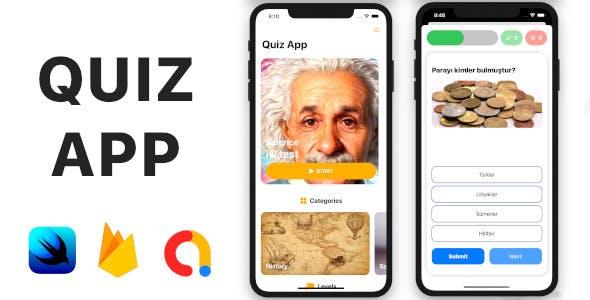 Quiz App | Full SwiftUI iOS Application