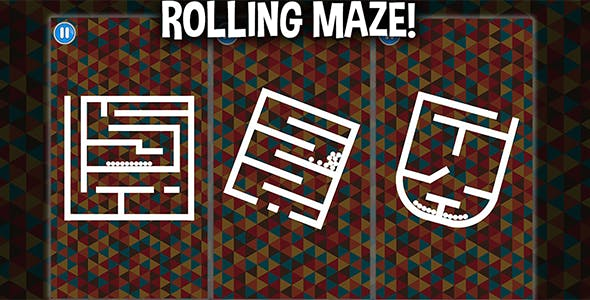 Rolling Maze (Unity Game) - balls rotate - complete puzzle project template