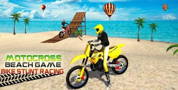 Motocross Beach Game Bike Stunt Racing