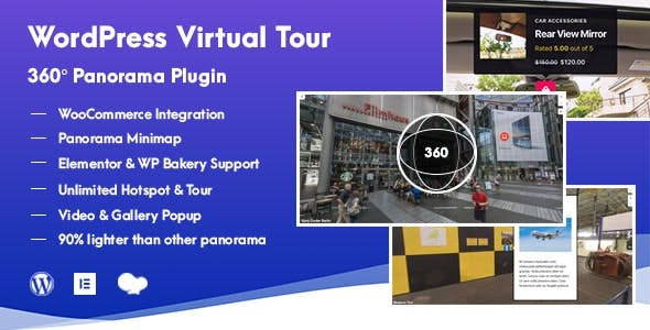 WordPress Virtual Tour 360 Panorama Plugin