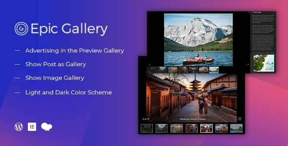 Epic Zoom Gallery WordPress Plugin & Add Ons for Elementor & WPBakery Page Builder - CodeCanyon Item for Sale