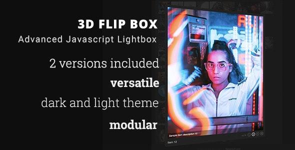 3D Flip Box - Advanced Javascript Lightbox - CodeCanyon Item for Sale