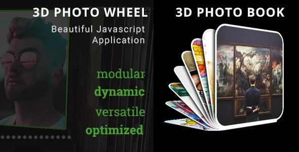 3D Photo Wheel - 3D Photo Book Bundle - CodeCanyon Item for Sale