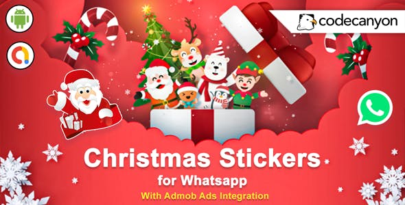 Android Christmas Stickers for Whatsapp 2021 - Whatsapp Sticker App