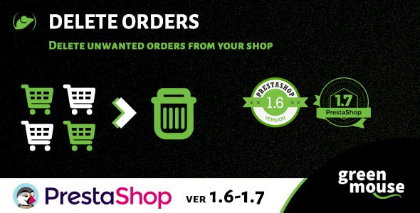 Prestashop Delete Orders