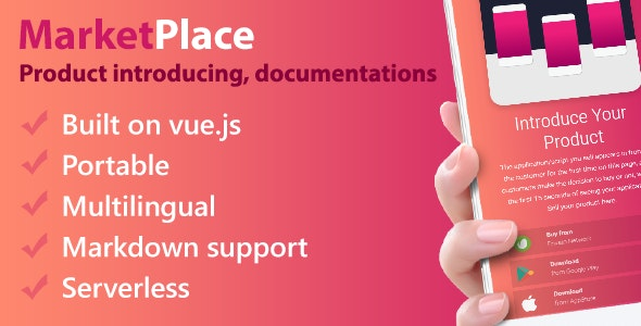 Product Introducing, Documentation - MarketPlace - CodeCanyon Item for Sale