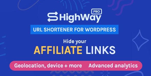 HighWayPro v1.5.2 – Ultimate URL Shortener & Link Cloaker for WordPress