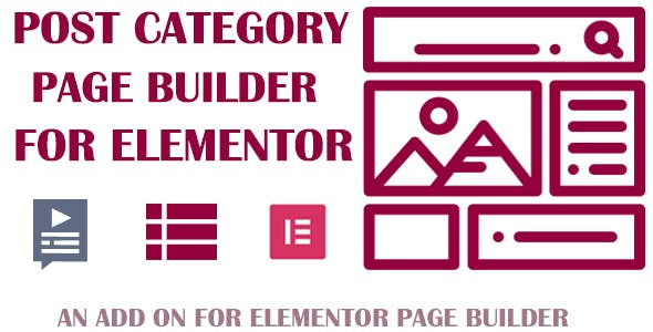 Customize Post Categories for Elementor Page Builder