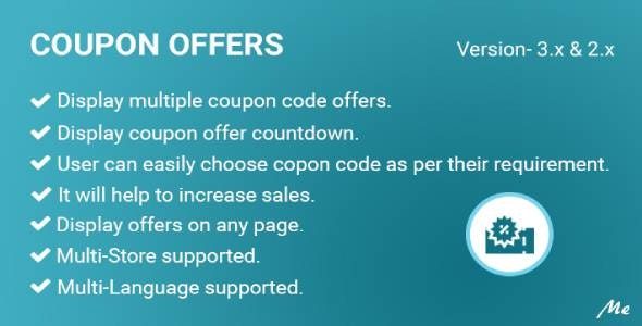 Coupon Offers - CodeCanyon Item for Sale