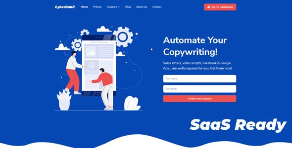 CyberBukit Automatic Writing - SaaS Ready