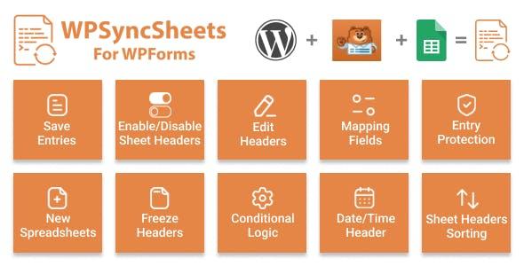 WPSyncSheets For WPForms - WPForms Google Spreadsheet Addon