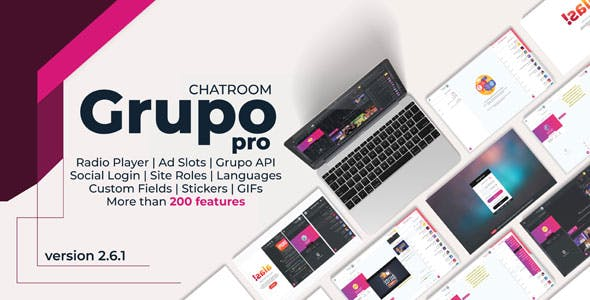 Grupo Chat Pro - Chat room & Private Chat