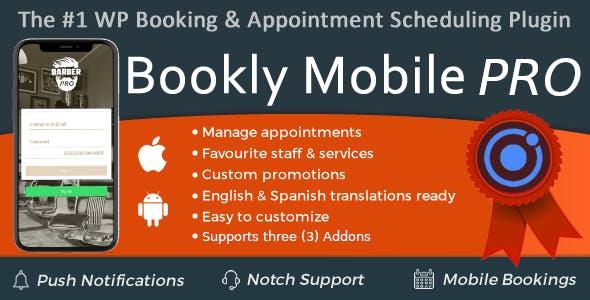 Bookly Mobile Pro
