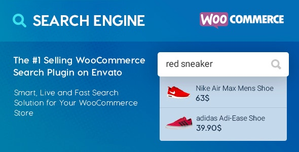 WooCommerce Search Engine - CodeCanyon Item for Sale