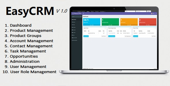 EasyCRM - Awesome Powerful Open Source CRM - CodeCanyon Item for Sale