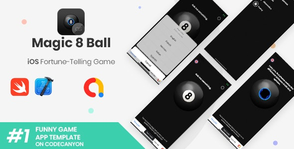 Magic 8 Ball | iOS Fortune-Telling Game Application - CodeCanyon Item for Sale