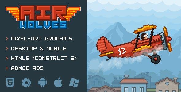 Air Wolves - air plane battle