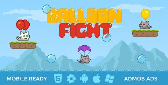 Balloon Fight | 8-bit HTML5 Game
