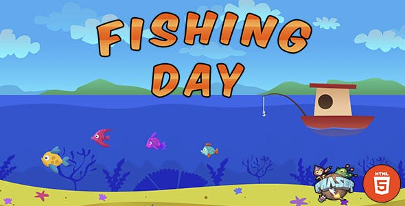Fishing Game - HTML5 Games - Phaser Games