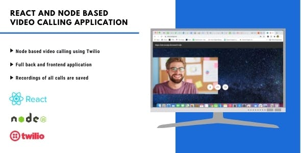 React and Node based Video Calling Application | Web Application