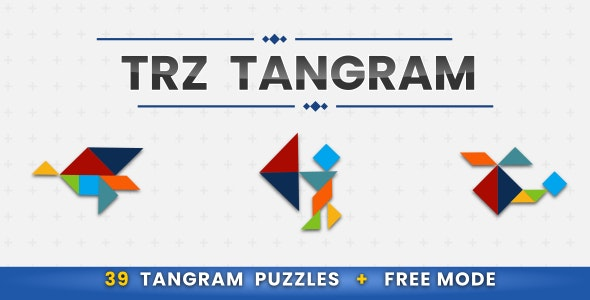 TRZ Tangram - HTML5 Casual game - CodeCanyon Item for Sale
