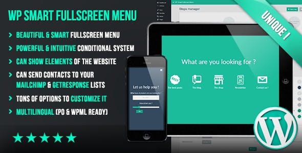 WP Smart Fullscreen Menu