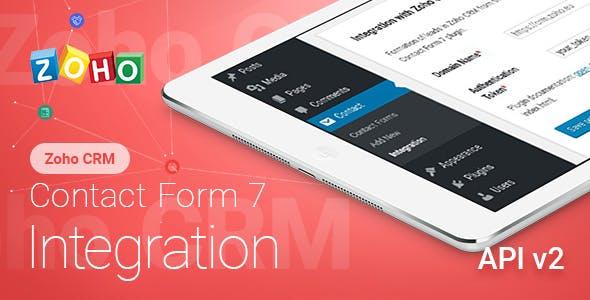 Contact Form 7 - Zoho CRM & Zoho Desk - Integration