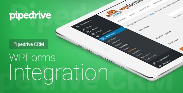 WPForms - Pipedrive CRM - Integration - CodeCanyon Item for Sale
