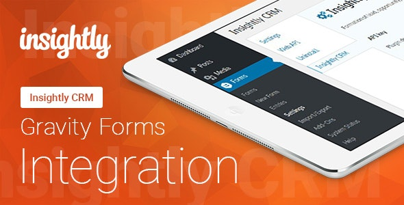 Gravity Forms - Insightly CRM - Integration - CodeCanyon Item for Sale