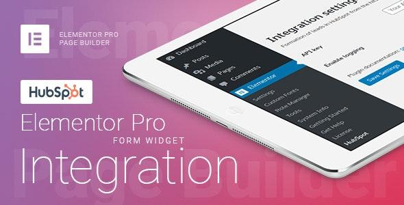 Elementor Pro Form Widget - HubSpot - Integration - CodeCanyon Item for Sale