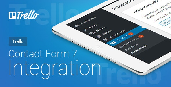 Contact Form 7 - Trello - Integration | Contact Form 7 - Trello - Интеграция - CodeCanyon Item for Sale