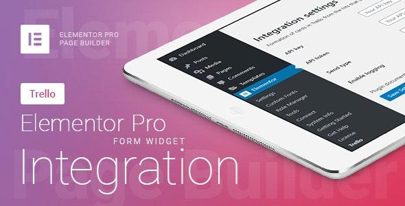 Elementor Pro Form Widget - Trello - Integration - CodeCanyon Item for Sale