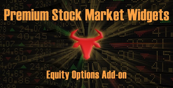 Equity Options Add-on | Premium Stock Market & Forex Widgets Plugin - CodeCanyon Item for Sale
