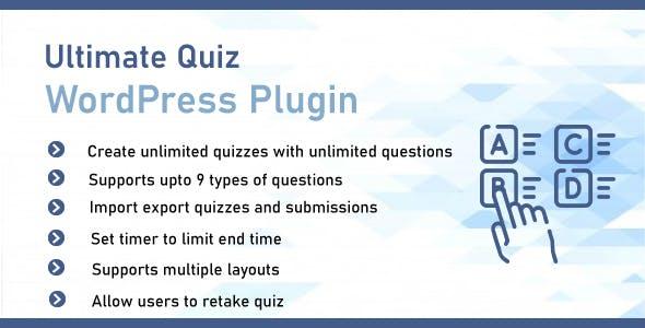 Ultimate Quiz Plugin For WordPress