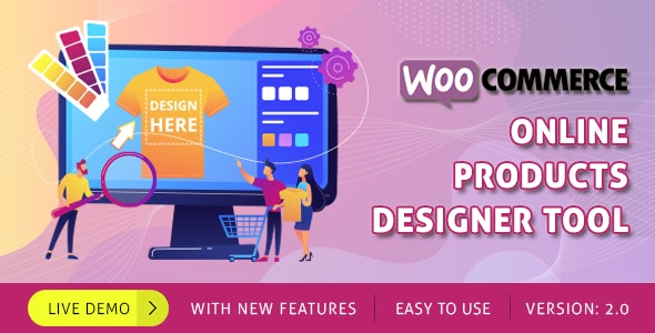 WooCommerce Online Product Designer