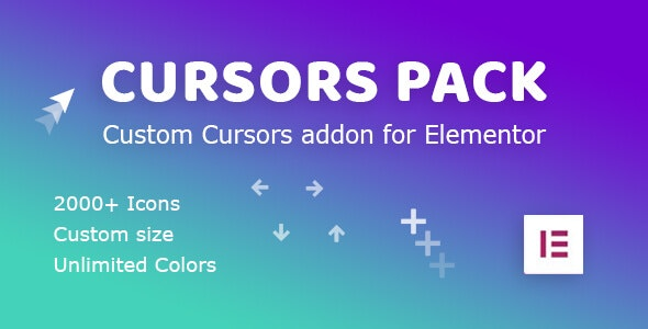Cursors Pack: Addon for Elementor WordPress Plugin - CodeCanyon Item for Sale