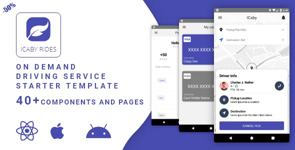 ICaby On Service Ordering - Request services - Template