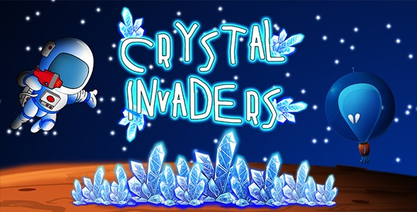 Crystal Invaders (CAPX and HTML5) - CodeCanyon Item for Sale