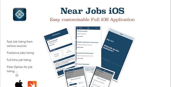 Near Jobs iOS Application