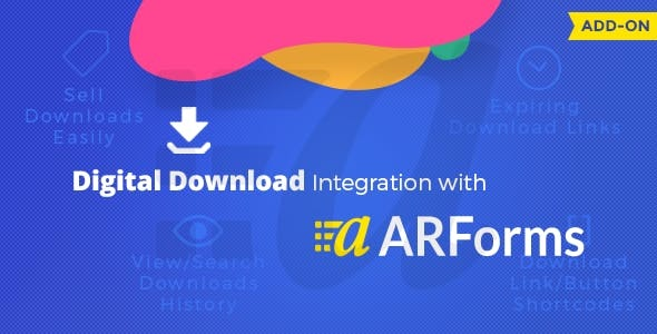 Digital downloads with Arforms - CodeCanyon Item for Sale