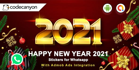Android Happy New Year Stickers for Whatsapp 2021 - Whatsapp Sticker App