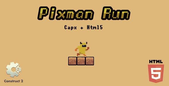 Pixsman Run - Html5 Game