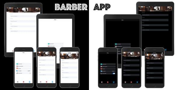 Barber App ionic 5