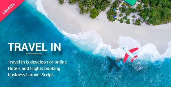Travelin - Hotel & Air Tickets Booking Laravel Script