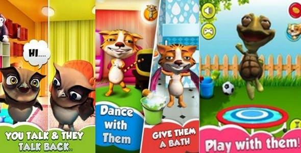 Talkback Cat AppGame Unity 3D